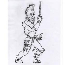 D and D / Bandit Rotten Jonny by Bergiloh
