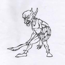 D and D / Goblin swordsgeb. by Bergiloh