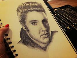 Elvis Presley by grandiosedelusions