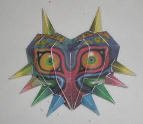Majora's Mask Papercraft by MichiruKaminari
