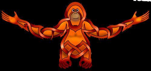 Orangutan by KnotYourWorld