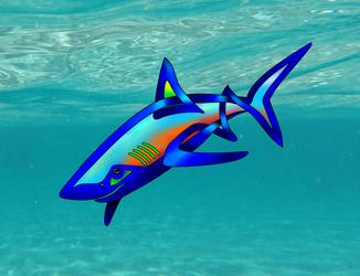 Pool Shark by KnotYourWorld
