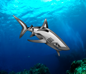 Shark by KnotYourWorld