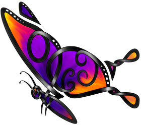 Butterfly Celt by KnotYourWorld
