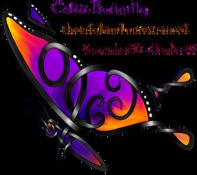 Celtic Butterfly by KnotYourWorld