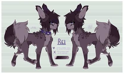 REI - Ref Sheet 2k18 by J-Kookie