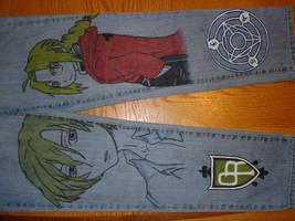FullMetal Host Club Jeans One by Jo-Designs