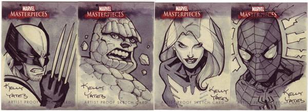 Marvel Masterworks AP Cards 1 by KellyYates