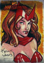 Scarlet Witch by KellyYates