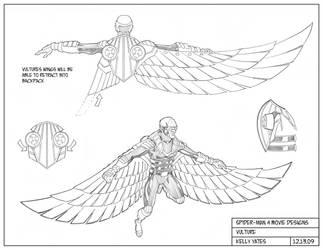 Spider-Man 4_Vulture design by KellyYates