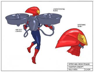 Spider-Man 4_Flightsuit by KellyYates