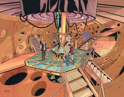 TARDIS cover by KellyYates