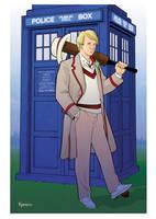 Mysticon 5th Doctor by KellyYates