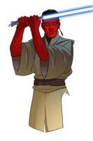 Jedi Padawan by KellyYates