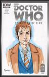 10th Doctor Marker Sketch by KellyYates