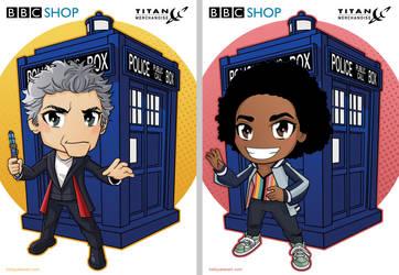 Kawaii Doctor and Bill by KellyYates