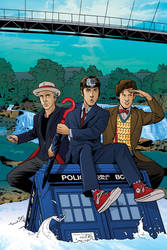 Doctor Who FCBD 2018 by KellyYates
