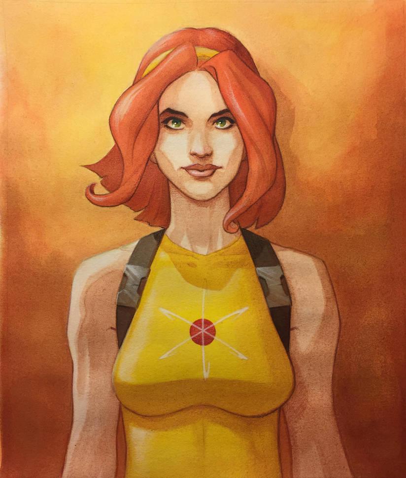 Amber Atoms by KellyYates