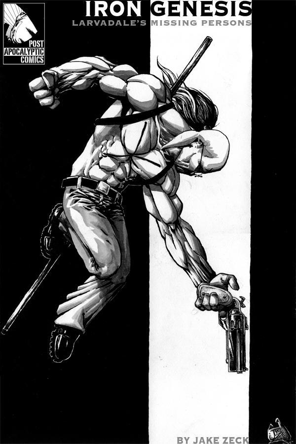 Iron Genesis Cover 1 by PostApocalypticJake