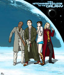 The Hitchhiker's Guide to the Galaxy by AlessiaPelonzi