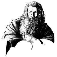Gandalf - WIP by AlessiaPelonzi