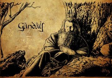 Gandalf the Grey by AlessiaPelonzi
