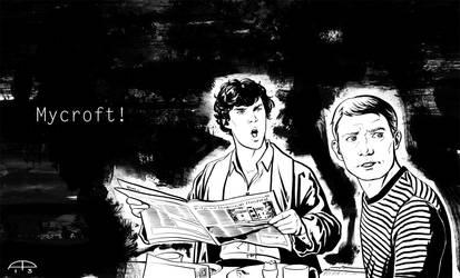 Mycroft! by AlessiaPelonzi