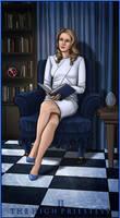 II. The High Priestess by AlessiaPelonzi