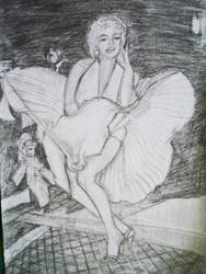 Marilyn Monroe by MariaAznar