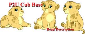 Lion King Newborn Cub Lines: 200p by oCrystal