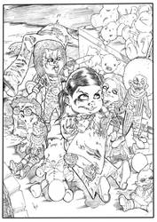 Bride of Chucky by hakanlogan