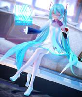 Hatsune Miku 10 Yrs Anniversary by Jakkaeront