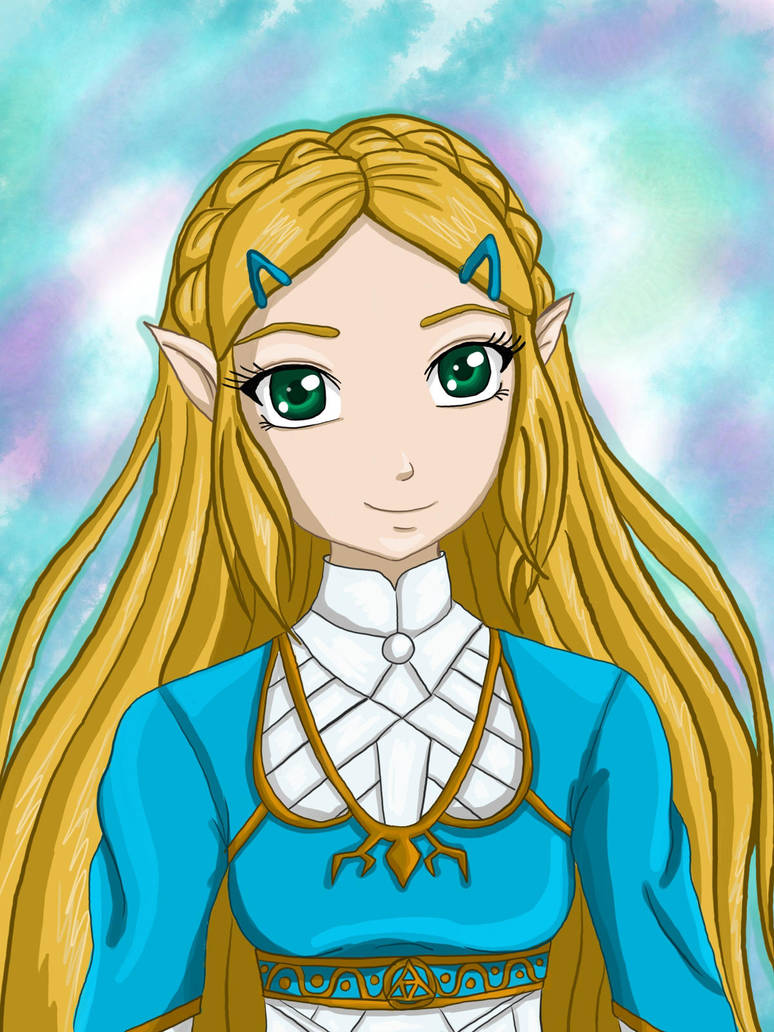 Princess Zelda Breath of the Wild by cotekotita