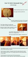 Rose Origami Tutorial Pt. 2 by CrimsonxReign