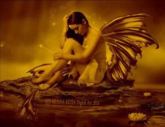 broken angel by MennaKezia