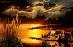 Sunset by Lashington