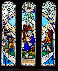 Holy Cross Church window by Lashington