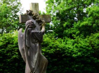Holy Cross Church Statue by Lashington