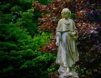 Holy Cross Church Statue 2 by Lashington