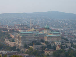 Buda Castle from on high by setanta5