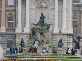 Monument at Buda Castle by setanta5