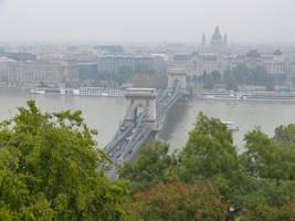 Chain Bridge from Buda Castle by setanta5