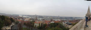 Panorama over Budapest by setanta5