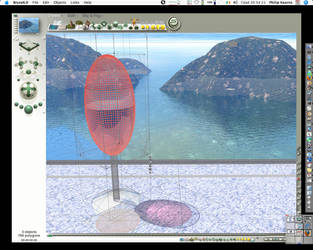 Bryce 6 image+wireframe by setanta5