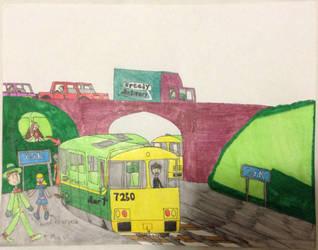 Christmas train trip by britishman1940