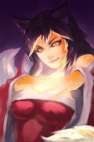 League of Legends fox girl by NowisSoloTime