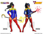 vengadora evolution to venuz by david-madrid-duarte