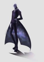 Galaxy Coat Gaster by v0idless
