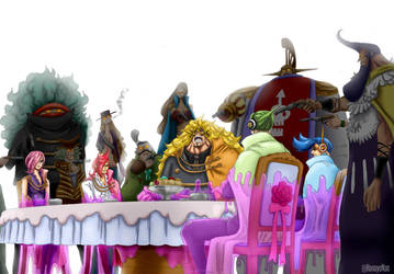 One Piece 864 - Big Mom's trap by Hanayo-Nao
