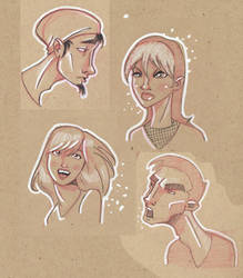 Some Faces by achanowitz